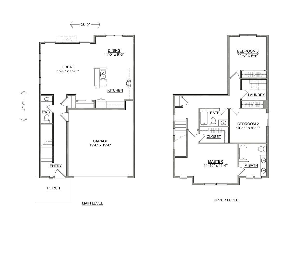 The linwood new homes in or by hayden homes for Hayden homes floor plans