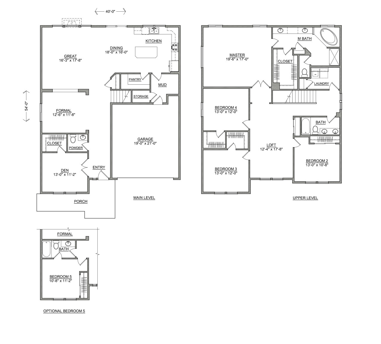 Waterbrook two story new home for Hayden homes floor plans