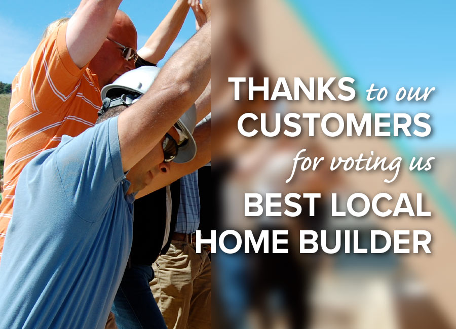 Voted Best Local Homebuilder in Central Oregon