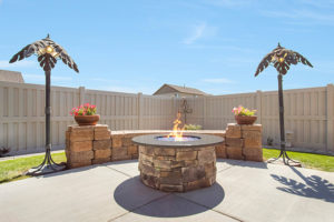 Hayden Homes Backyard Giveaway Firepit