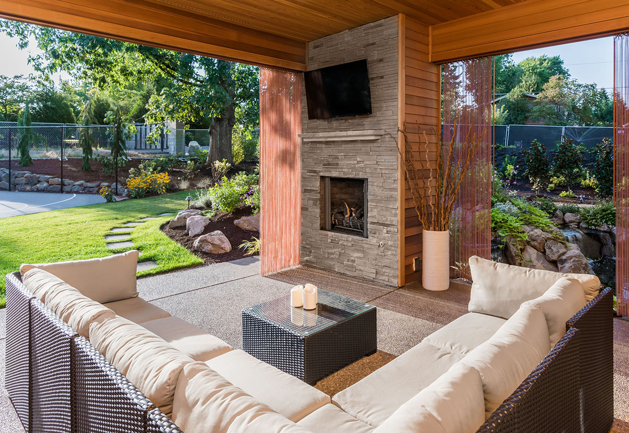 Backyard Entertainment Ideas backyard ideas and outdoor living spaces for your new home | hayden
