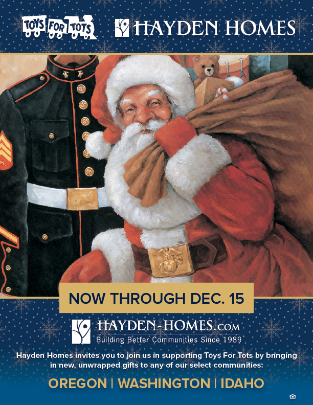 Hayden Homes Toys For Tots Donation Locations
