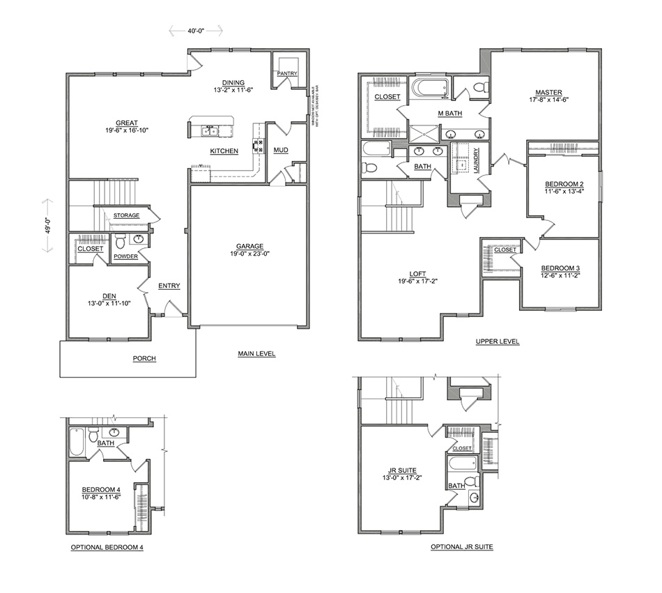The vale 2968 sf two story new home hayden homes for Hayden homes floor plans