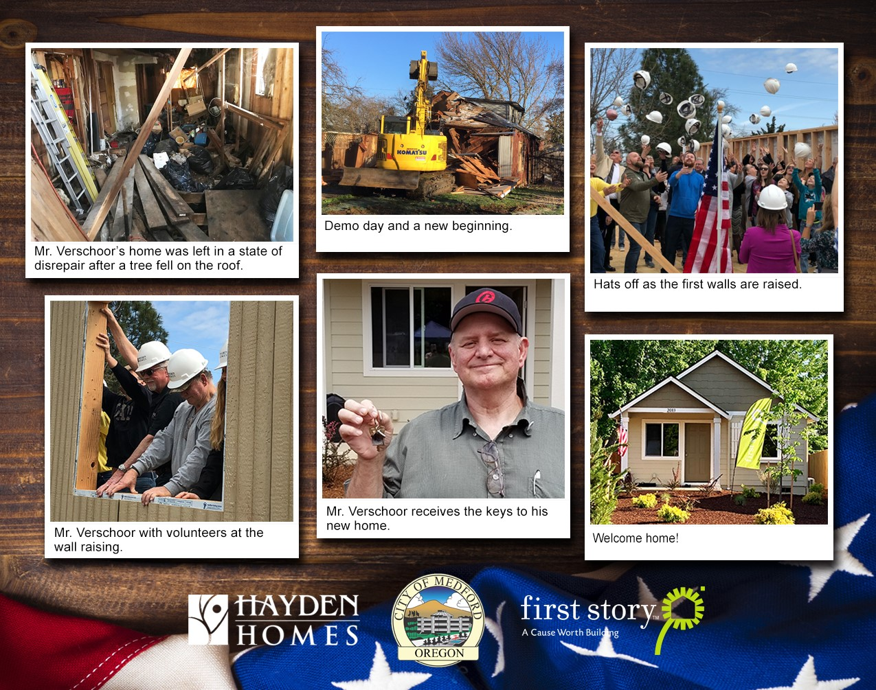 Helping to rebuild a Veteran's Home