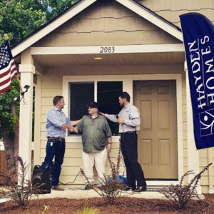 Rebuilding a Veteran's Home in Medford