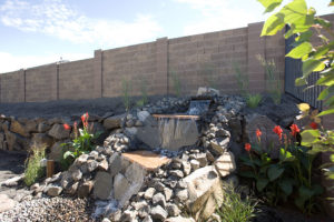 Create an outdoor space for peace and serenity