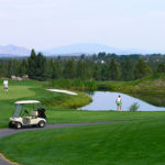 Golfing at Eagle Crest Resort