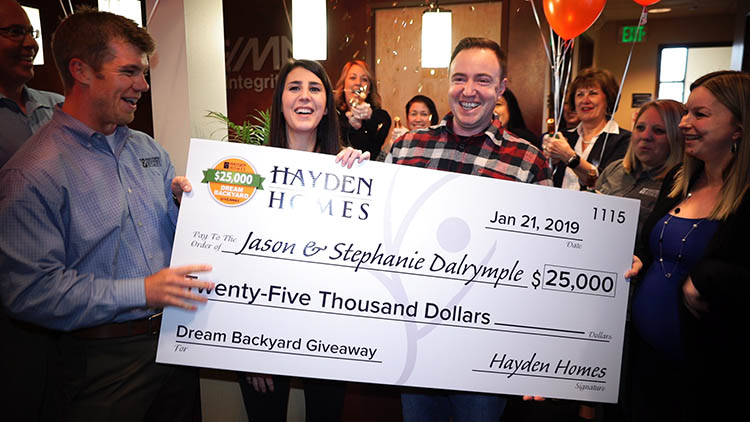 2018 Hayden Homes Dream Backyard Winners Revealed