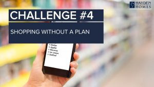 Challenge 4 - Shopping without a plan