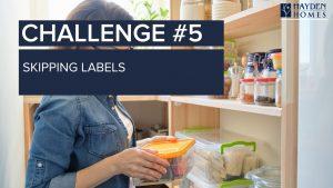 Challenge 5 - Skipping Labels