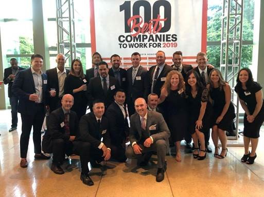 Hayden Homes Team Members at the Seattle Business Magazine Best Places to Work in WA