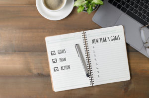 Goals, Plan, Action for a New Year's Resolution for your new home