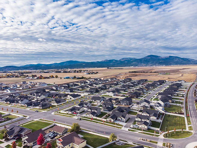 Post Falls Idaho New Home Community for Green Meadows by Hayden Homes