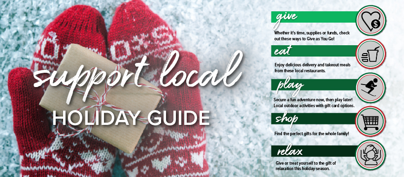 Support Local Holiday Guide Key
