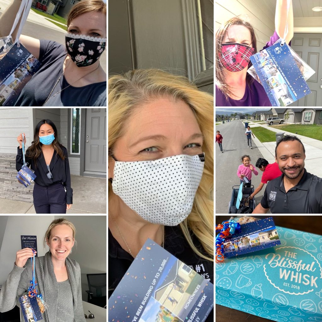 Hayden Homes celebrates 20,000 Homeowners with cookie drops