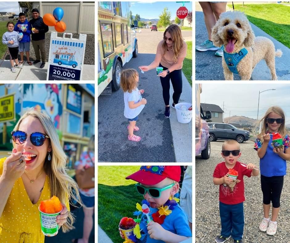 Hayden Homes 20K Kona Ice Celebration