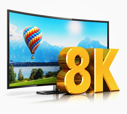HDMI 2.1 8K TV