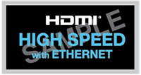 HDMI High-Speed Cable with Ethernet
