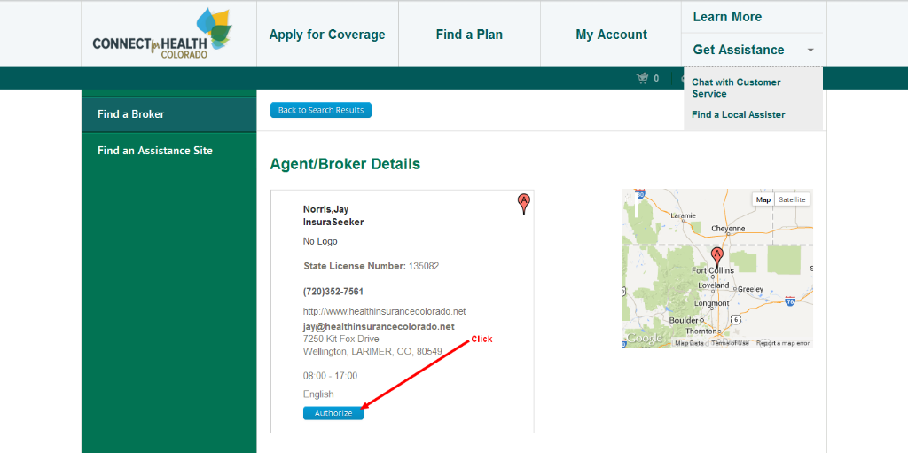 how to become a health insurance broker in colorado