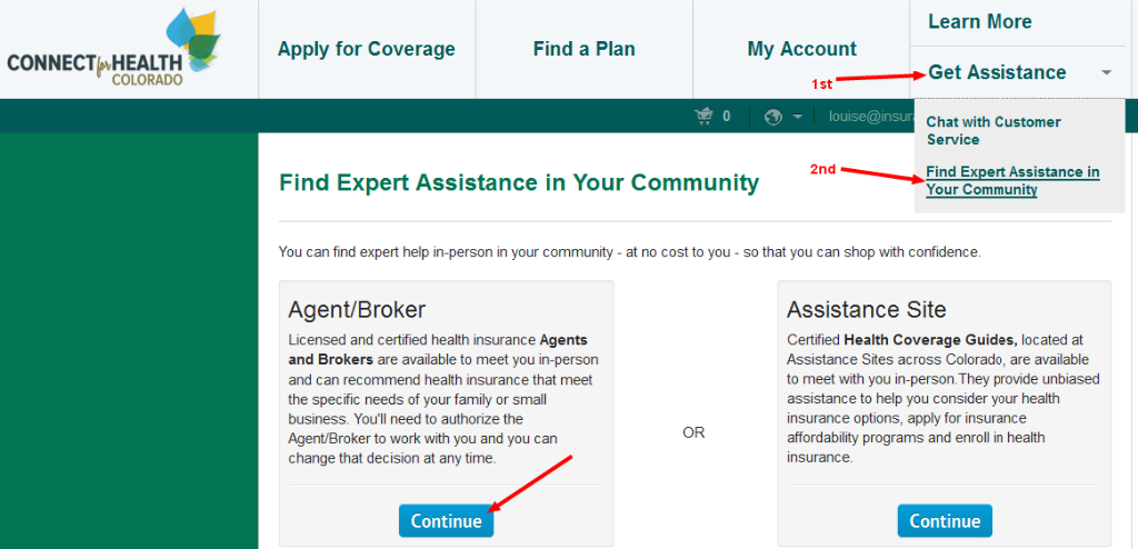 Colorado Health Insurance >> Colorado Health Insurance Broker Authorization With Connect