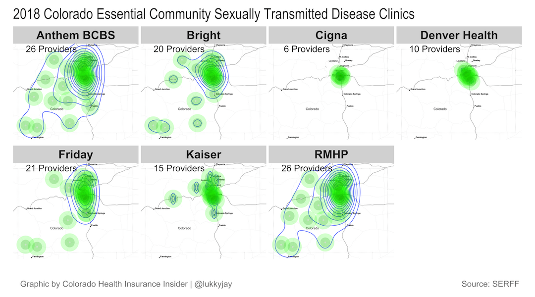 Sexually Transmitted Disease Clinics ECP