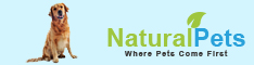 Keep Us Smiling Natural Pets Shop Now Banner