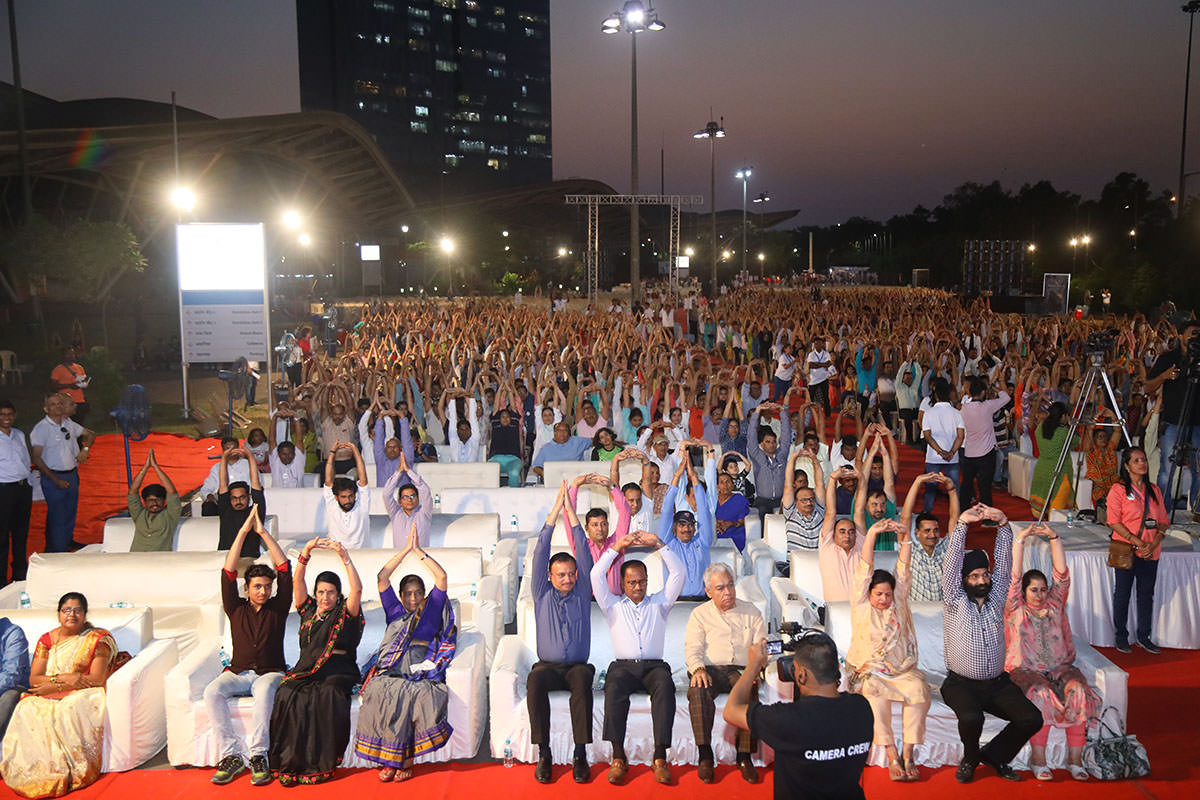 Heartfulness dhyanotsav at mumbai