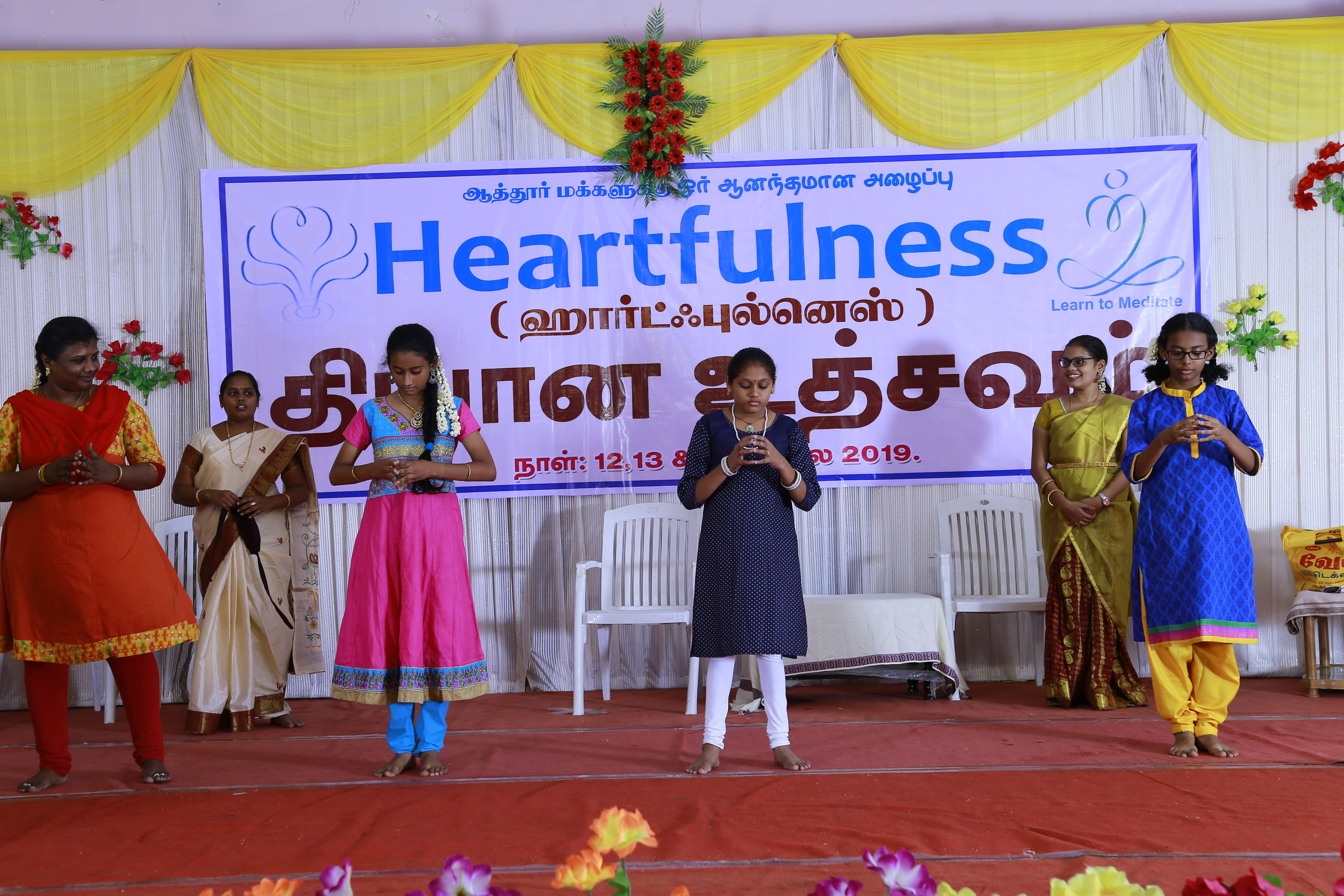 heartfulness dhyanotsav at attur
