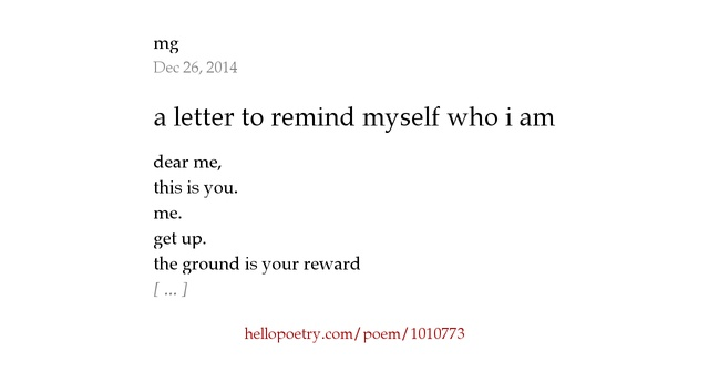 a letter to myself poem a letter to remind myself who i am by mg hello poetry 23991 | fb