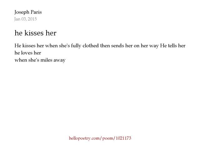 Merveilleux Hello Poetry