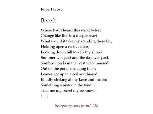 poetry robert frost poems and Free essay: the poetry of emily dickinson and robert frost the poetry of emily dickinson and robert frost contains similar themes and ideas both poets.
