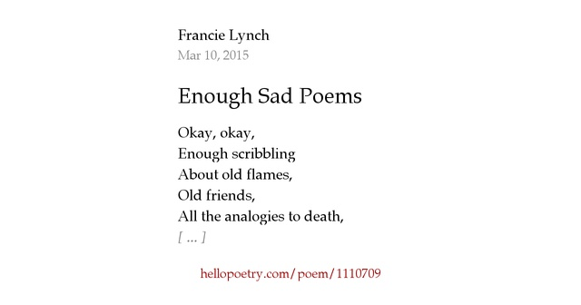 be tough enough a poem You ask me to write a poem about myself you are enough, that's right, you heard me, you're enough even when times are rough things get tough.
