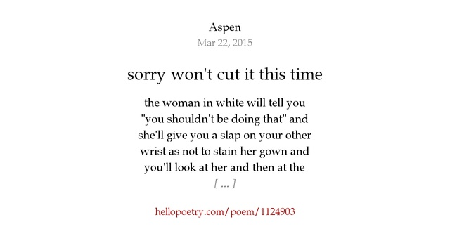 Cutting Wrists Poems | www.pixshark.com - Images Galleries ...