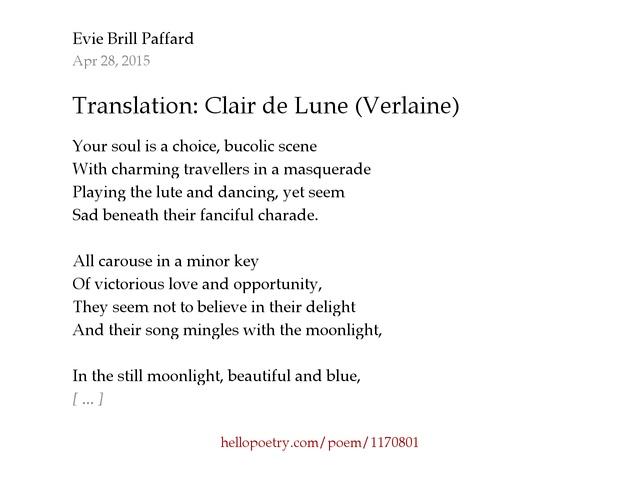 Lune Poem