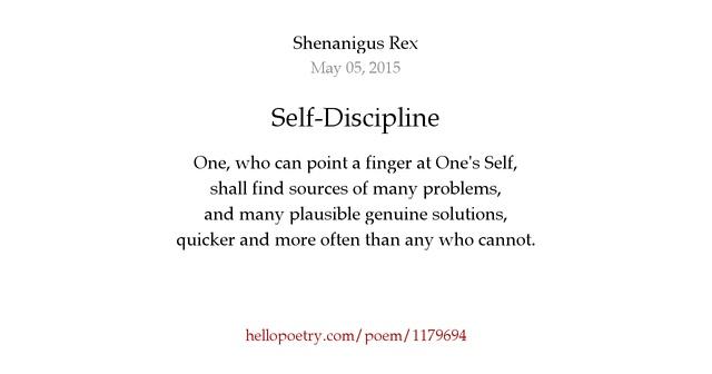 Self-Discipline by Anu...