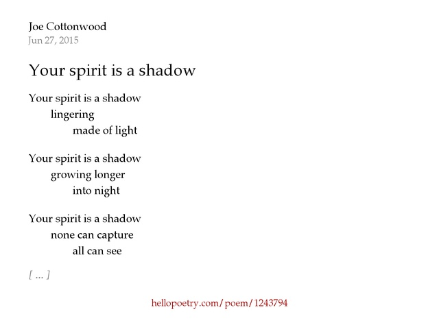 substance shadow and spirit poem William shakespeare quotes collection of poems and quotes by william shakespeare from famous poets and poems life's but a walking shadow.