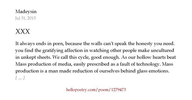 Xxx Poems 108