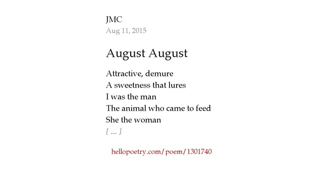 My One And Only Poems | just b.CAUSE