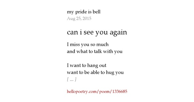 I Wanna Cuddle With You Poem: Can I See You Again By Lotus Lord