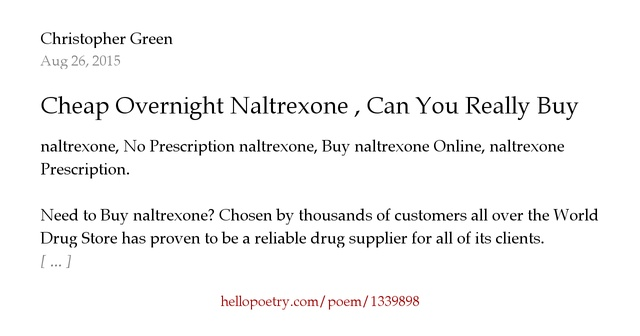 naltrexone genetics