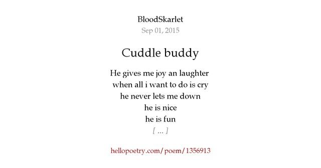Cuddle Buddy By RhiannonMystique