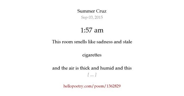 157 Am By Summer Cruz