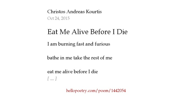 how to eat a poem