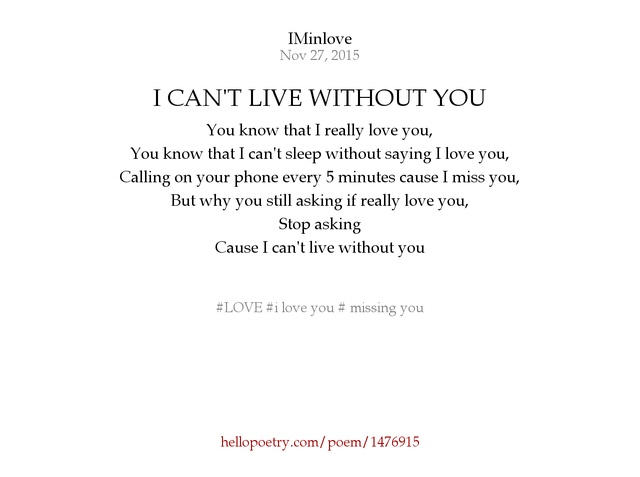 Sleeping Without You Poem 33388 Trendnet