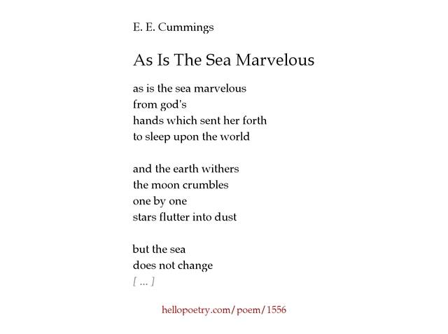 ee cummings influences