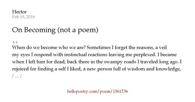 Hello Poetry