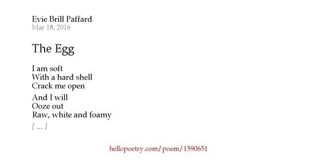 Metaphor poems