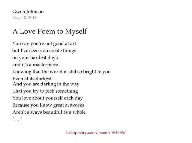 poems about knowing yourself