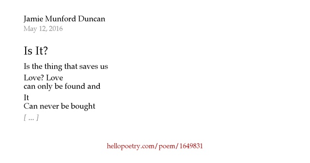 Famous Jamie Poems by Famous Poets