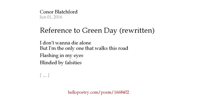 with reference to three poems discuss Using the slash when quoting poetry when quoting lines of poetry up to three lines long (which are not indented, see indenting quotations ), separate one line of poetry from another with a slash mark (see examples in incorporating quotations into sentences .